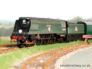 bulleid unrebuilt west country class locomotive