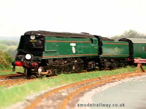 bulleid battle of britain class locomotive